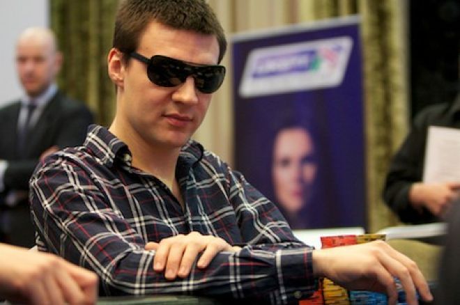 PokerStars UK & Ireland Poker Tour Cork - Paweł Keller w dniu finałowym 0001