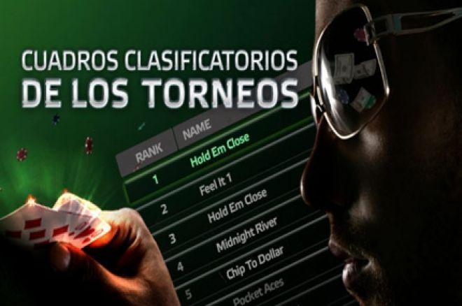 PartyPoker semanal: Cuadros clasificatorios de torneos PartyPoker.es 0001