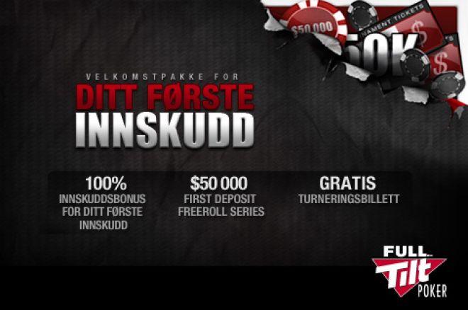 Full Tilt Poker har endret sitt turneringsprogram - 225 garanterte turneringer hver eneste... 0001