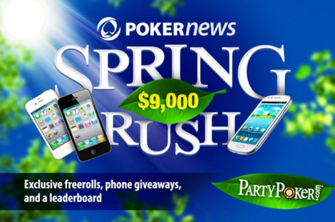 Win Superb Prizes in the PokerNews PartyPoker $9,000 Spring Rush 0001