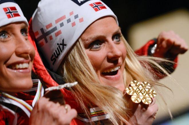 Norwegian skiers!