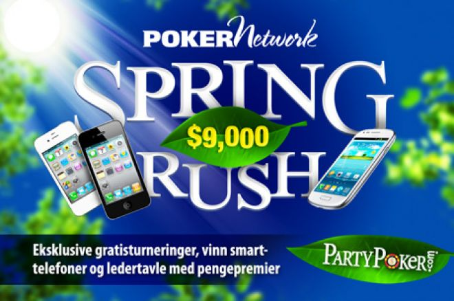 Vinn noen herlige premier ved PokerNews PartyPoker $9k Spring Rush 0001