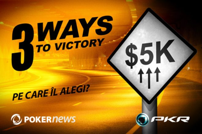 PKR 3 Ways To Victory kvalifiseringen avsluttes 4. mars 0001