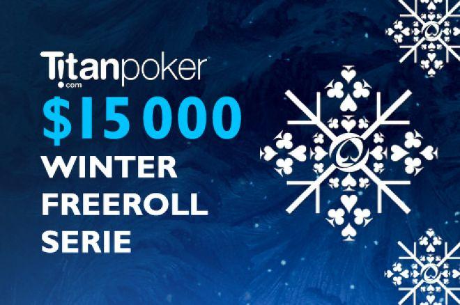 En uke til den siste $1 000 Freerollen ved Titan Winter Freeroll Serien 0001