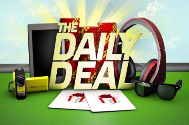 PartyPoker Weekly: Odbieraj darmowe prezenty dzięki promocji Daily Deal 0001