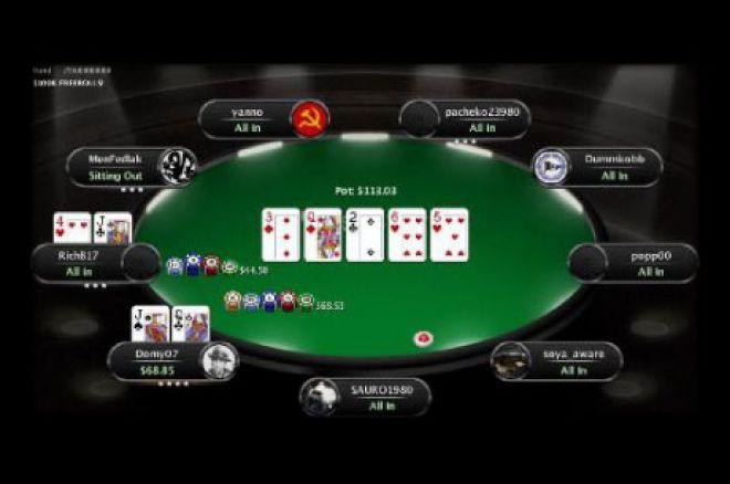 PokerStars 95 милиардна ръка
