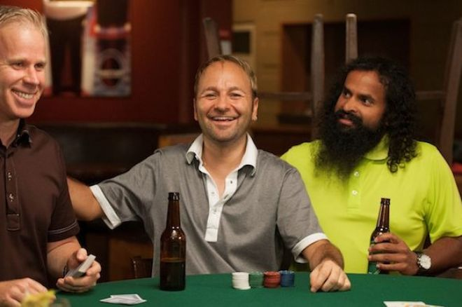 Daniel Negreanu on the set of Mr. D.