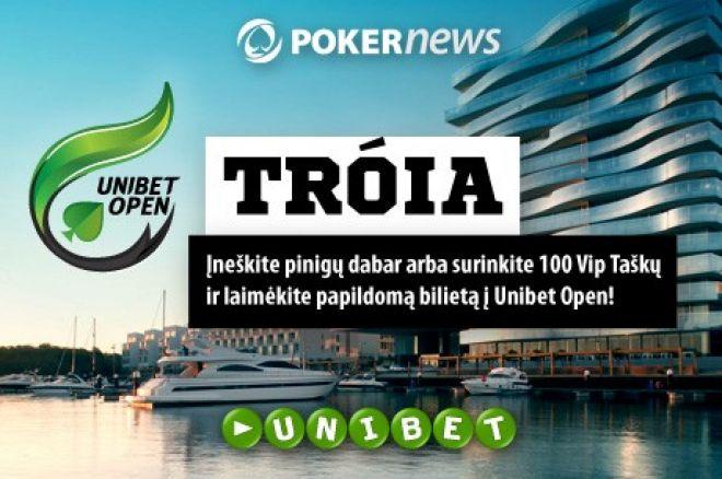 Laimėkite bilietus į Unibet Open Tróia atrankas! 0001