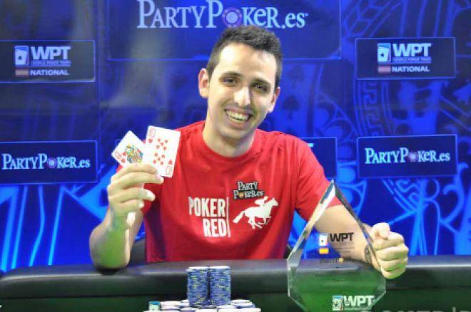 Sergio Aido Espina upon winning WPTN Madrid