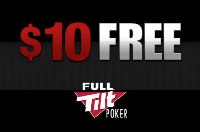 Pomóż sobie otrzymując darmowe $10 na Full Tilt Poker - Depozyt nie jest wymagany! 0001