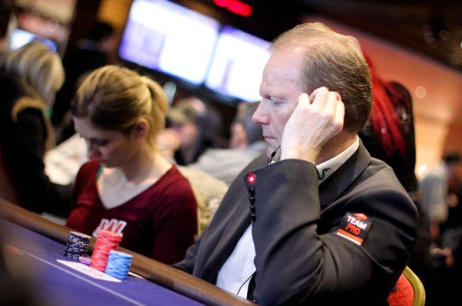 PokerStars EPT Londen - Dag 3: Lüske buiten het geld, Refos en Visser door naar dag 4