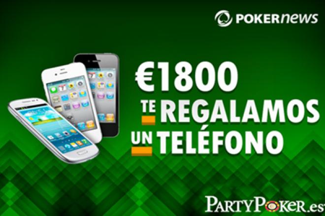 Promociones PartyPoker.es  Mañana jueves participa en un torneo para conseguir un teléfono... 0001