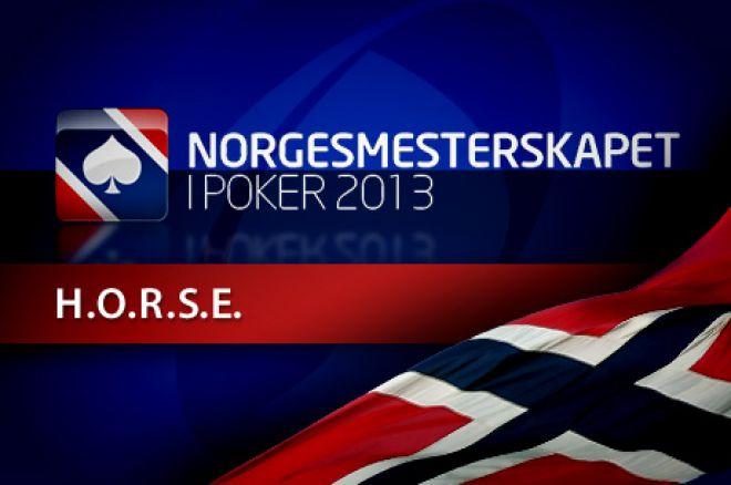 Norgesmesterskapet i Poker 2013 - 31 stilte til start ved H.O.R.S.E øvelsen 0001