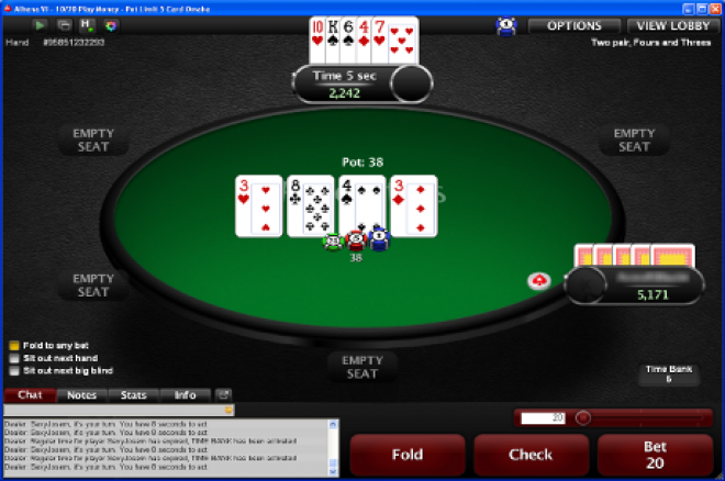 PokerStars Launch 5 Card Omaha and Three Other New Games! 0001