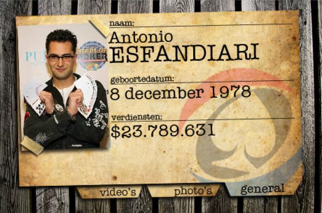PokerNews Background Check: Antonio Esfandiari