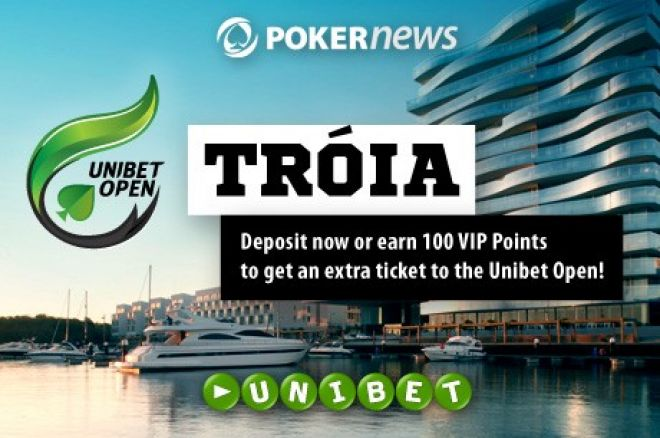How Does a Free Ticket to Qualify for the Unibet Open Tróia Sound? 0001