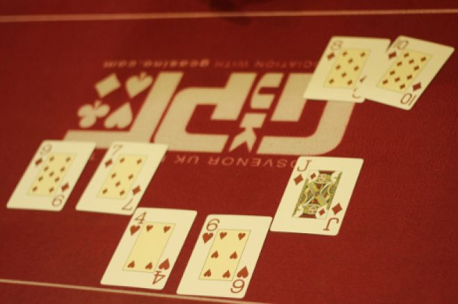 A hand from the 2013 UKSPC
