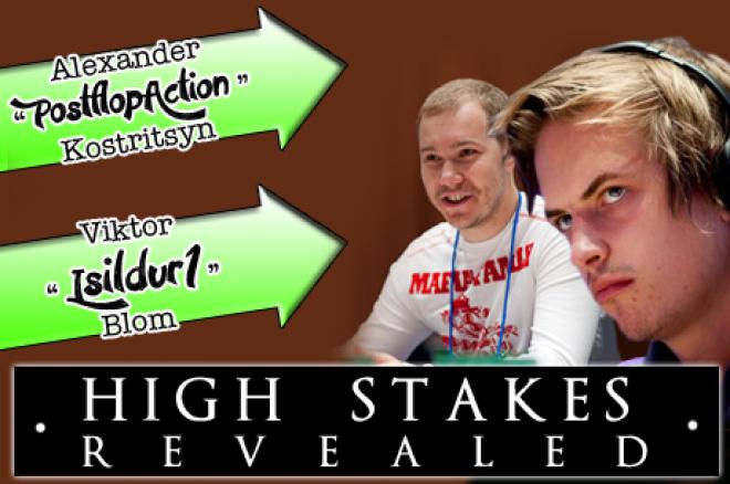 High Stakes Revealed - De vijf grootste potten en de resultaten van het 1e kwartaal van 2013
