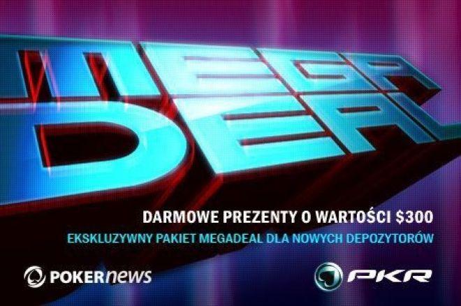 PKR MEGADEAL - Gracze PokerNews otrzymają przynajmniej $300 0001