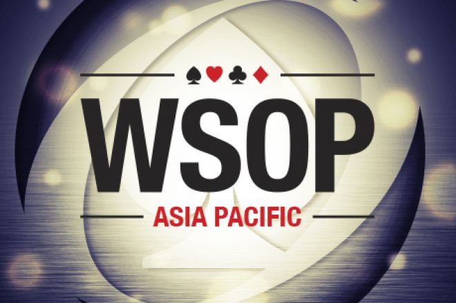 World Series of Poker Asia Pacific Dia 1c: Morales Líder do 1c, Antoine Saout é o Líder... 0001