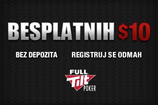 Obezbedite Sebi Besplatnih $10 na Full Tilt Pokeru --- Bez Depozita! 0001