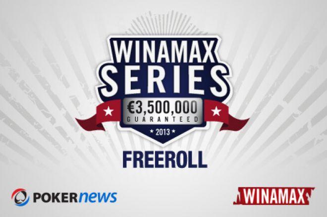 Vinn billetter til €3 500 000 guaranteed Winamax Series VI i vår eksklusive Freeroll. 0001