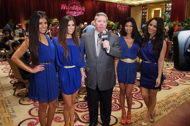 Mike Sexton and the Royal Flush Girls