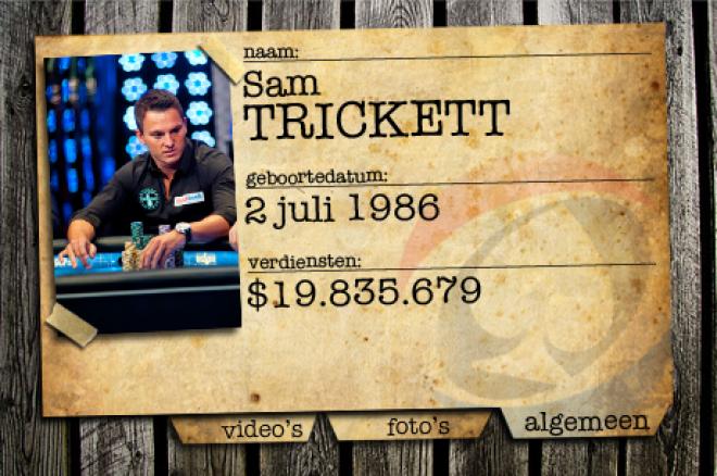 PokerNews Background Check: Sam Trickett