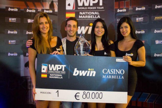 Fran Pérez ganador del WPT NATIONAL MARBELLA. 0001