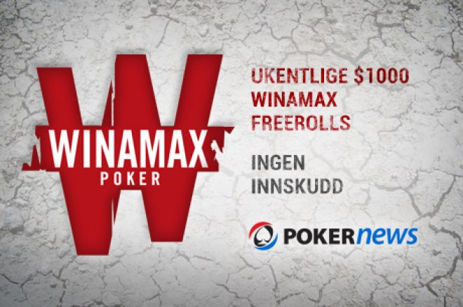 Winamax €1,000 Freerolls