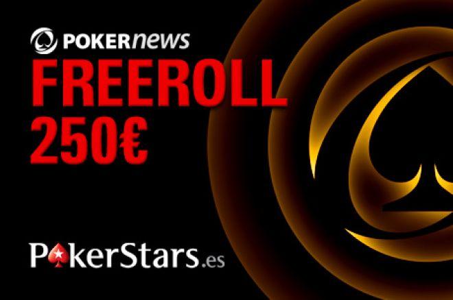 Freeroll de 250€ con PokerNews España y PokerStars.es información y más 0001