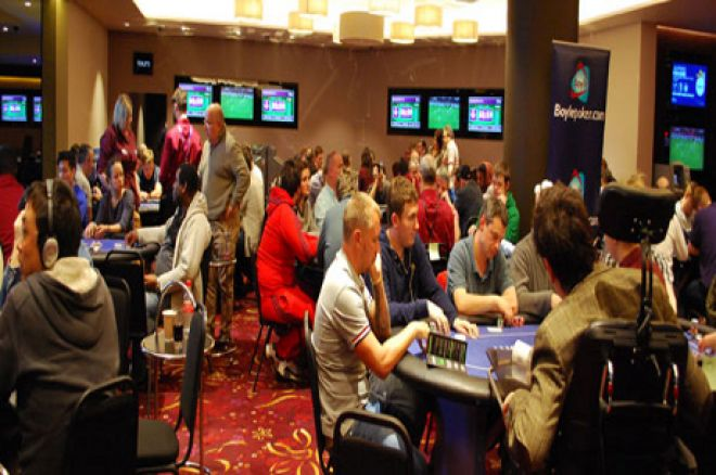 Mihail Antone Leads After Day 1a of BoylePoker IPO London 0001