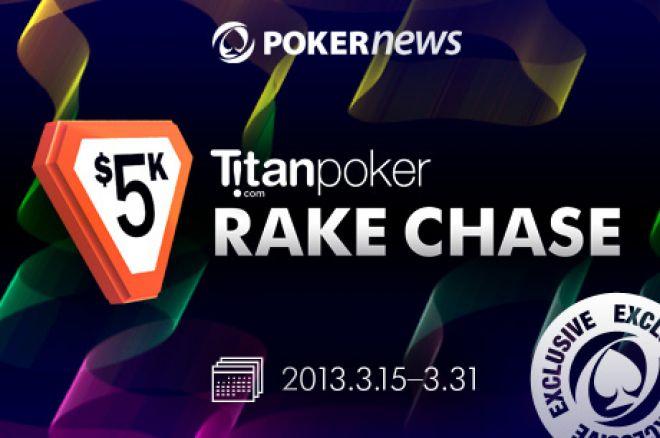 Spill om $8 000 ved vår $15 000 Titan Spring Freeroll Serie + $5 000 RakeChase 0001