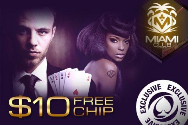 Otrzymaj darmowe $10 w Miami Club Casino - Depozyt nie jest wymagany 0001