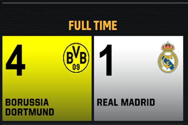 Dortmund kör över Real Madrid med 4-1 - Bäddat för heltysk CL-final 0001