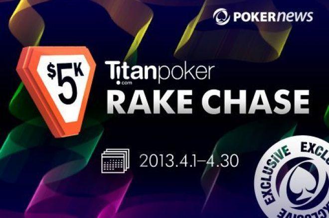 Pelningas Titan Poker pasiūlymas: nemokami turnyrai  ir RakeChase lenktynės 0001