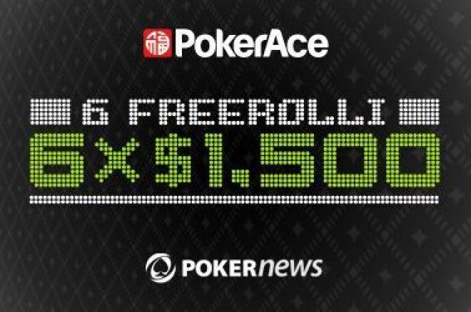 Złóż depozyt na PokerAce i wygraj część z puli $9,000 0001