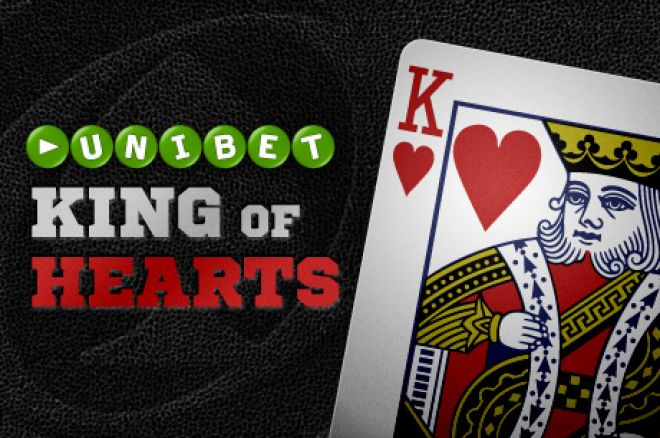 There's €200,000 Up For Grabs in the Unibet King of Hearts Promotion 0001