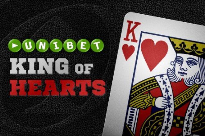 """Laimėk dalį iš €200,000 pasinaudodamas """"Unibet King of Hearts"""" pasiūlymu 0001"""
