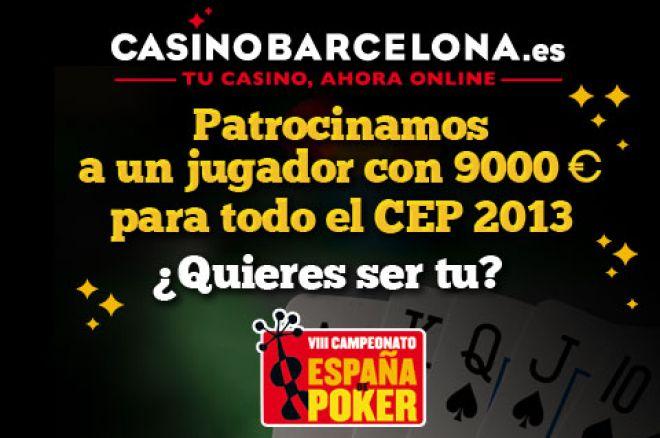 CasinoBarcelona.es te ofrece 12 plazas para CEP 2013 0001