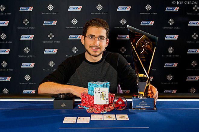 EPT 25,000 eurų įpirkos HighRoller laimėjo Steven Silverman 0001