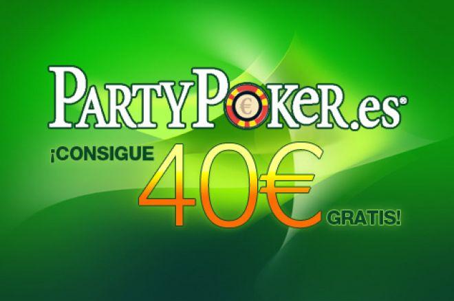 PartyPoker Semanal:10.000€ garantizados, Poker&Gol, Asiento en Las Vegas y 40€ gratis 0001
