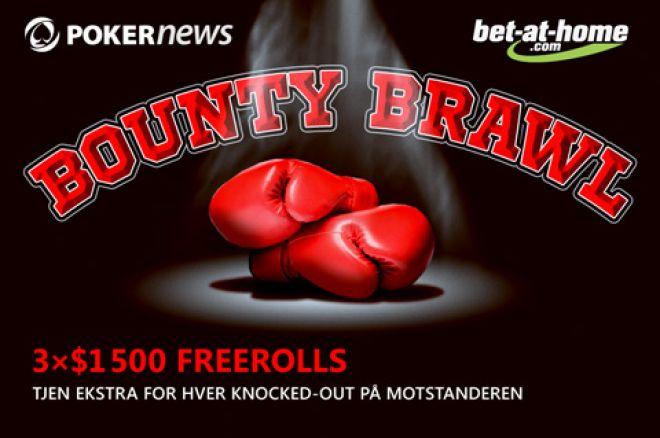 Slå ut spillere og vinn penger ved PokerNews bet at home Bounty Brawl 0001