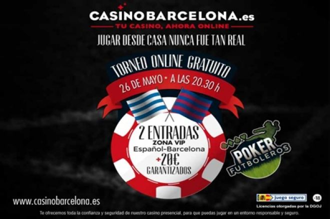 Poker futboleros  y satélite de Petit Holdem en CasinoBarcelona.es 0001