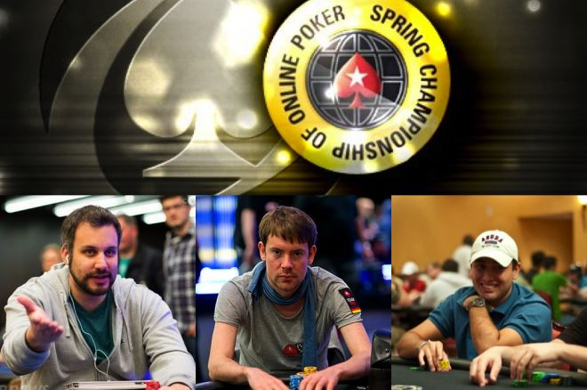 "George Danzer, Victor ""Puropoker123"" Lemos & Adam ""Roothlus"" Levy Win SCOOP Titles 0001"