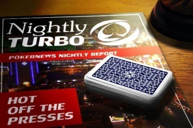 El Nightly Turbo: Eventos paralelos del ISPT, subasta de un brazalete y más 0001