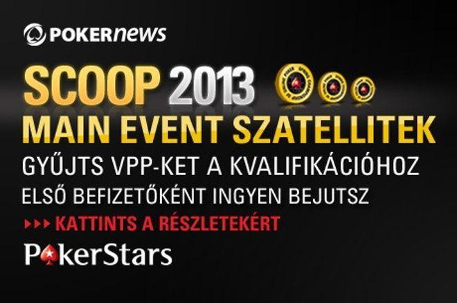 Hétfőig biztosíthatod a helyed $15.000-oos PokerStars SCOOP-szatellitjeinken 0001