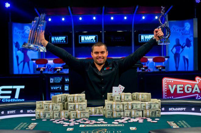 David Sands Wins 2013 World Poker Tour $100,000 Super High Roller; Joseph Cheong 2nd 0001