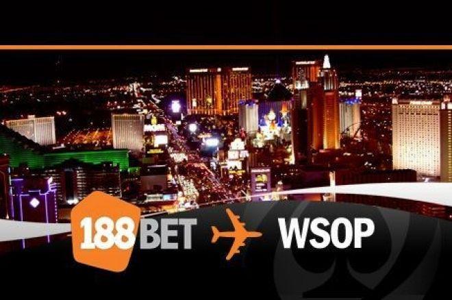 Juss ki a WSOP-re az 188BET-ről, és a beülő kiesés esetén is a tied! 0001