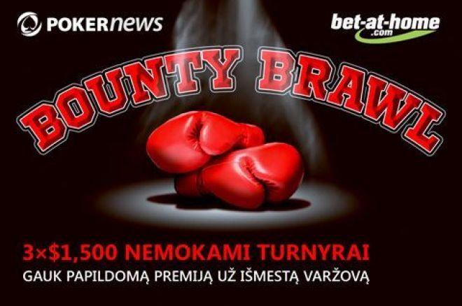 Tapk premijų medžiotoju bet-at-home.com Bounty Brawl nemokamuose turnyruose 0001